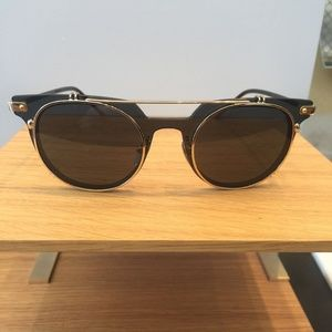 Dolce & Gabbana DG2196 0287 Camel Oval Sunglasses